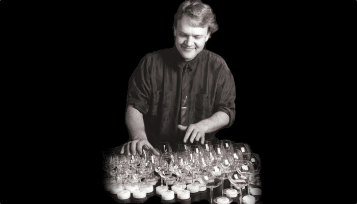 Brian Engel playing Glass Harp